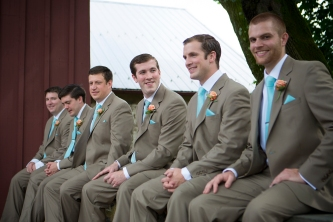 Matt and the Groomsmen
