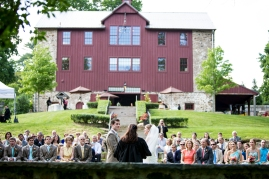 Wedding Ceremony at Grace Winery