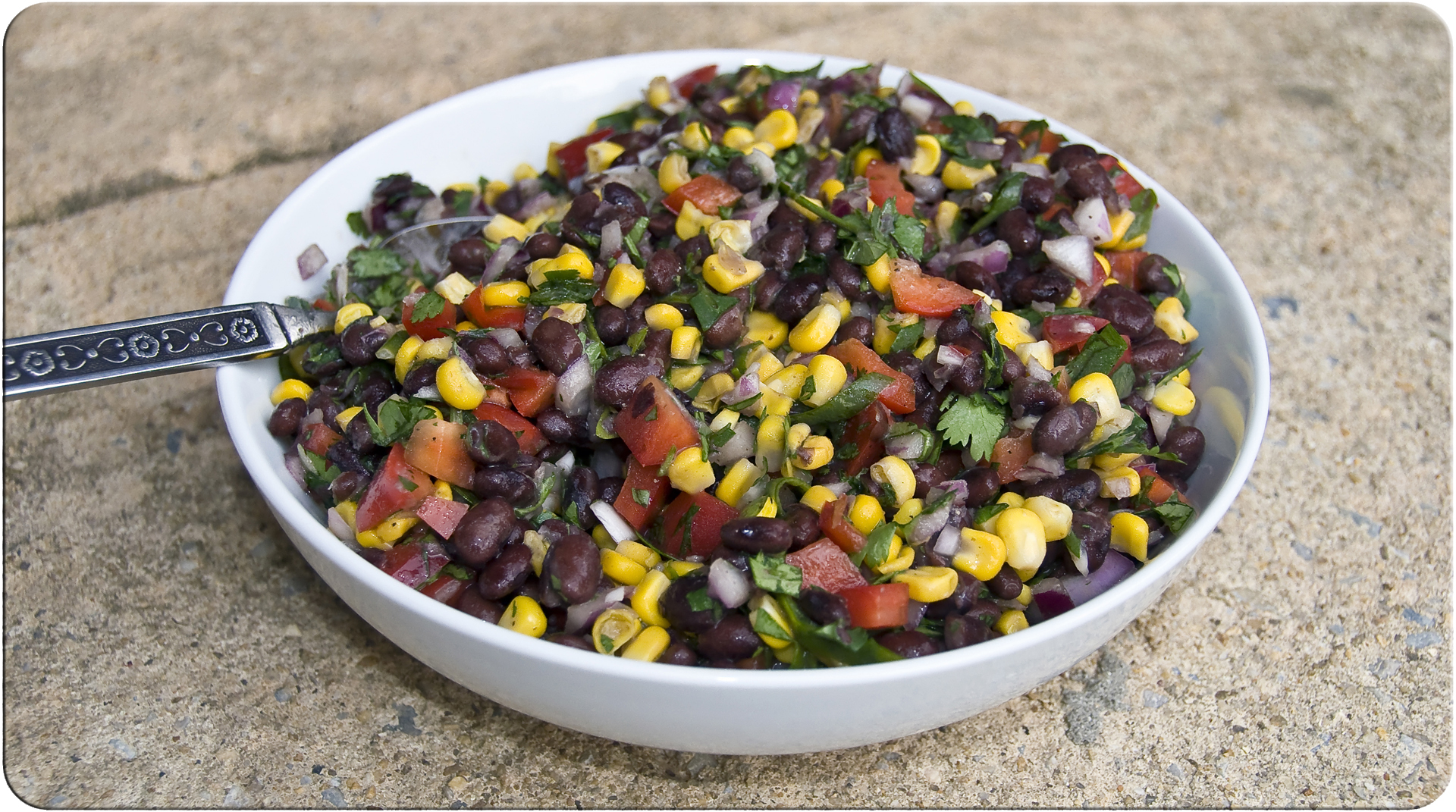 Corn and Black Bean Salad | The Little GSP