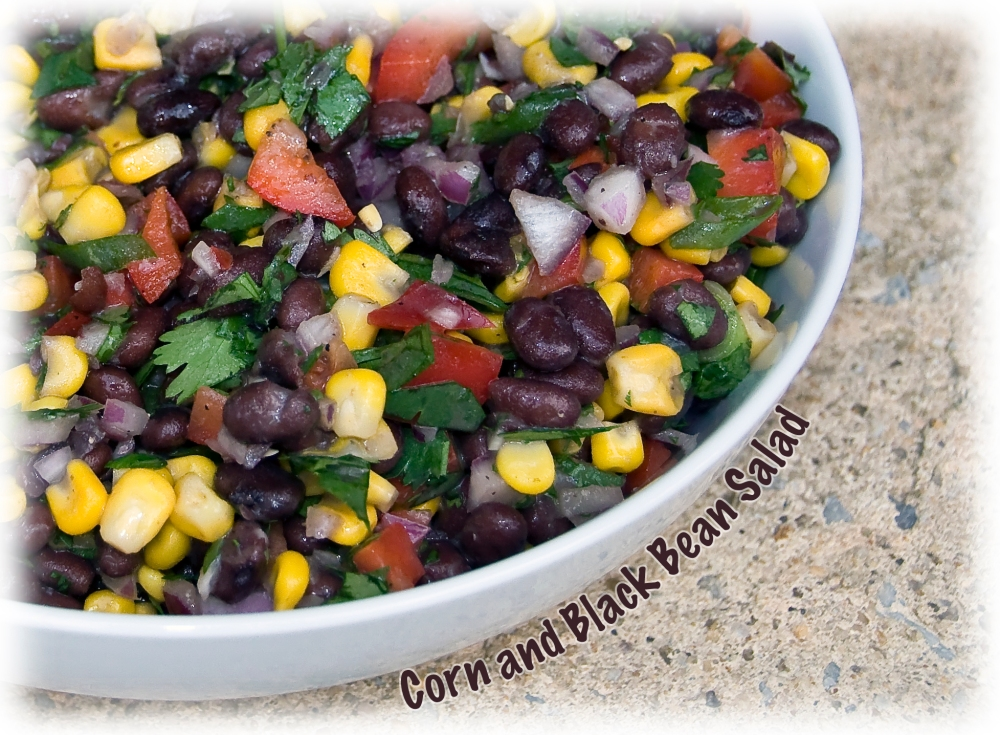 Corn and Black Bean Salad (1/3)