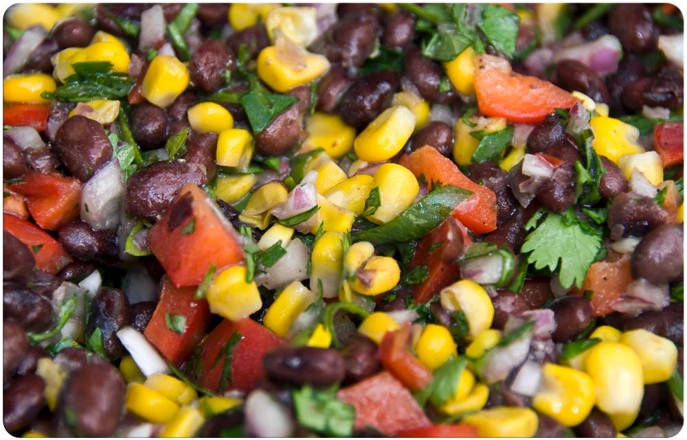 Corn and Black Bean Salad (2/3)