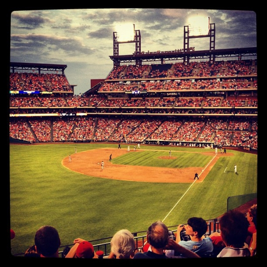Go Phillies! edited with Instagram