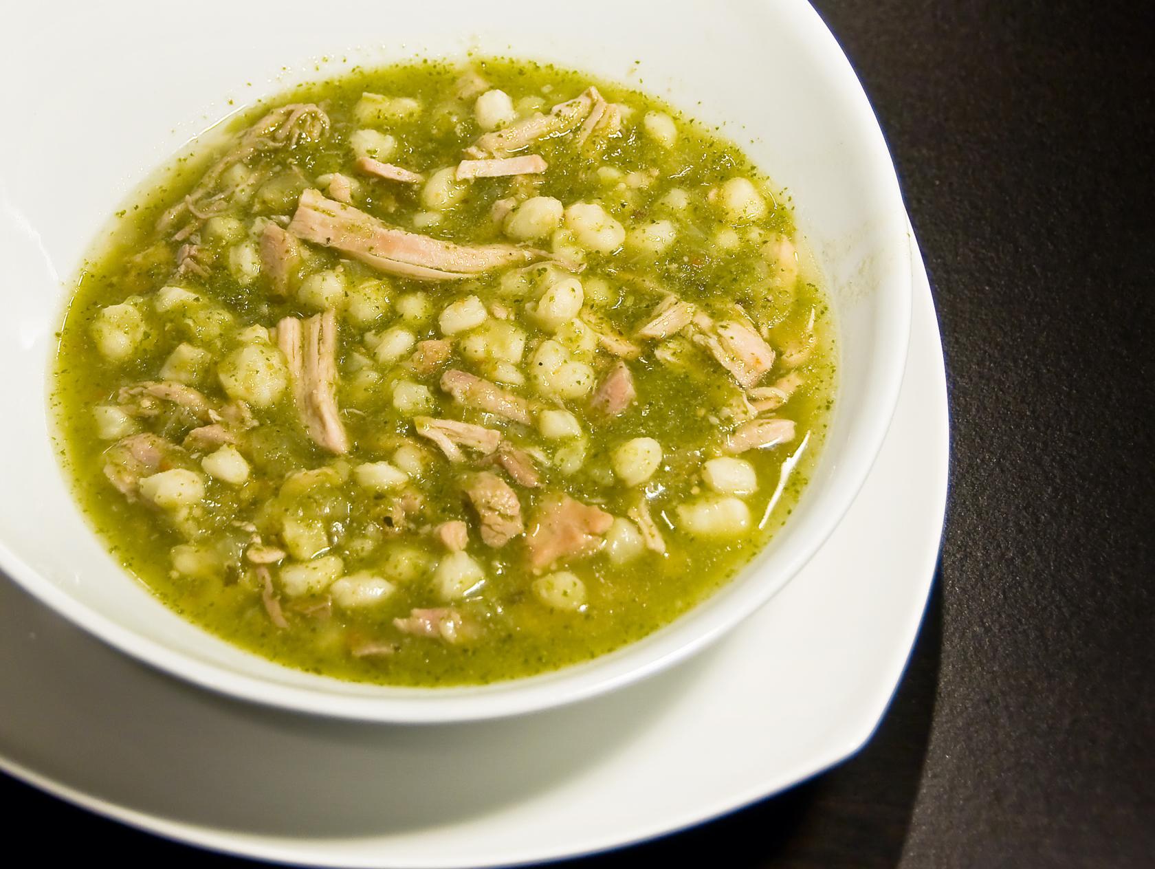 Pozole Verde De Pollo Recipe