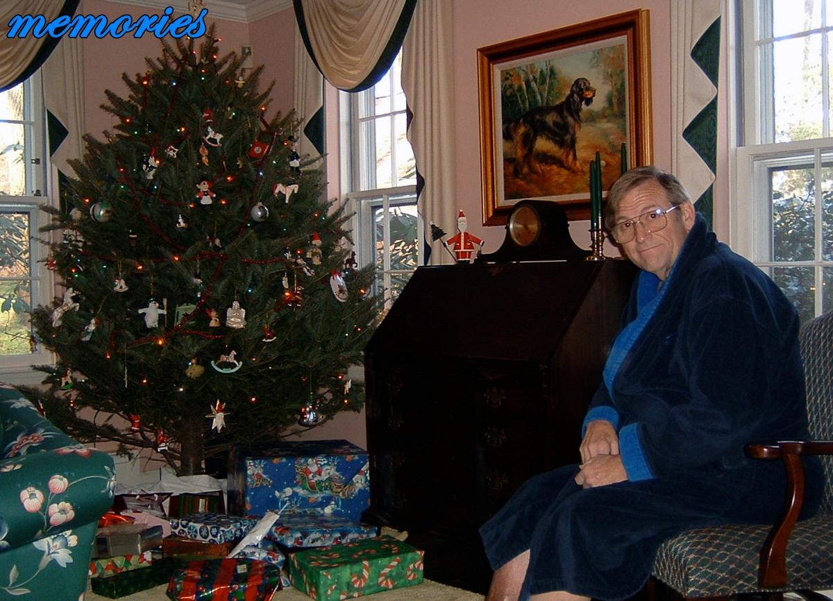 20 - Memories - Christmas morning with my dad