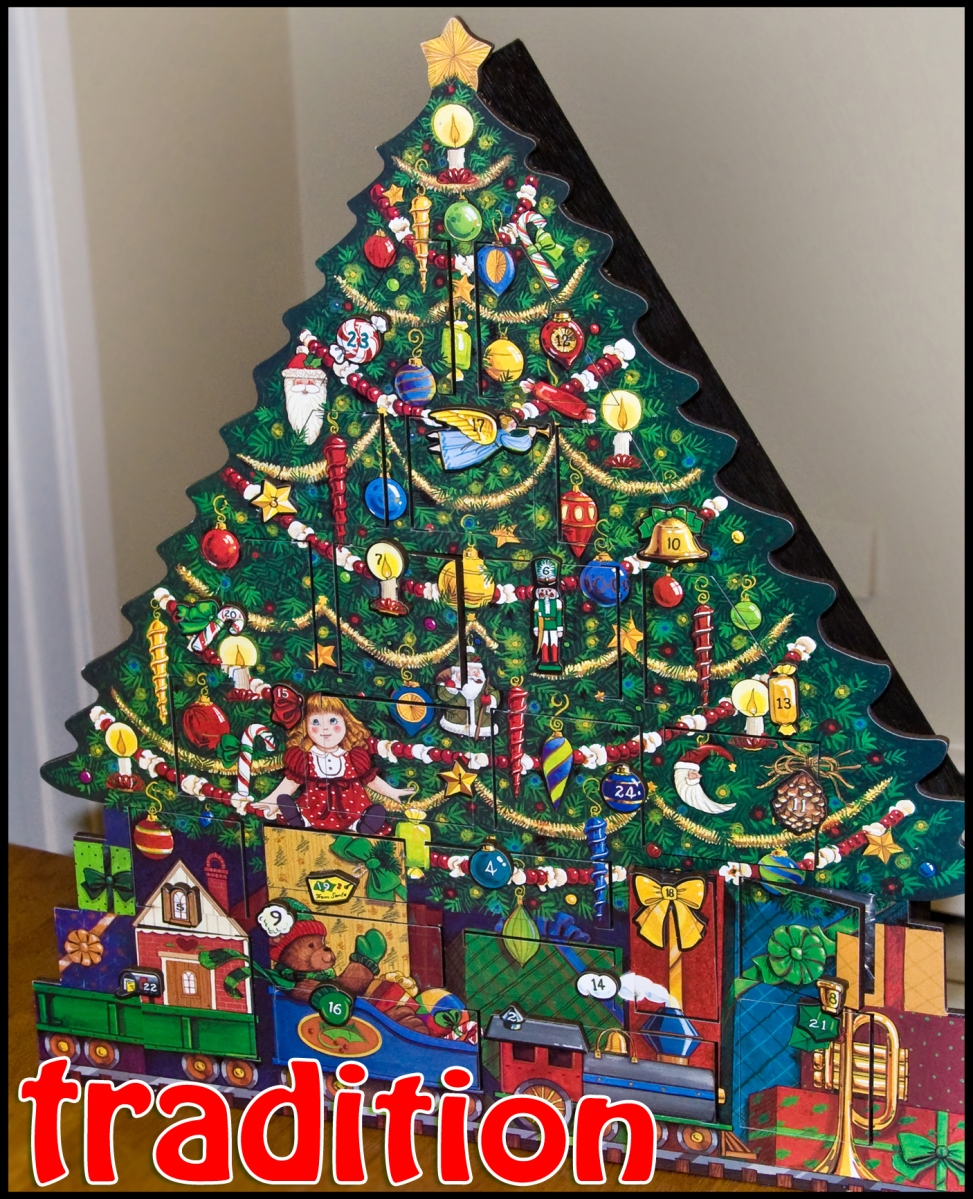 (4) Tradition: Our Advent Calendar