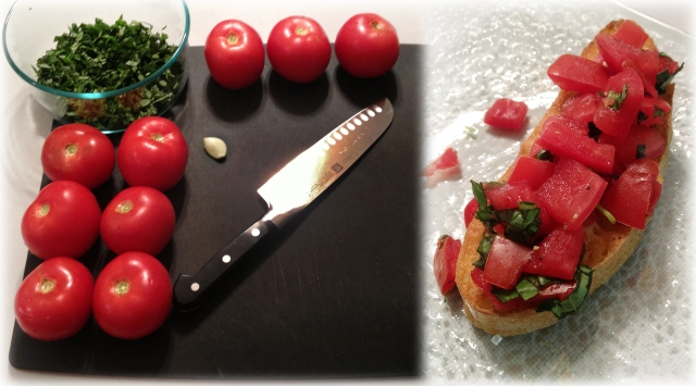 Super Easy Bruschetta!