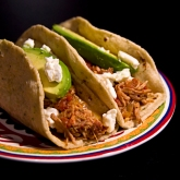 Smoky Pork Tinga Tacos