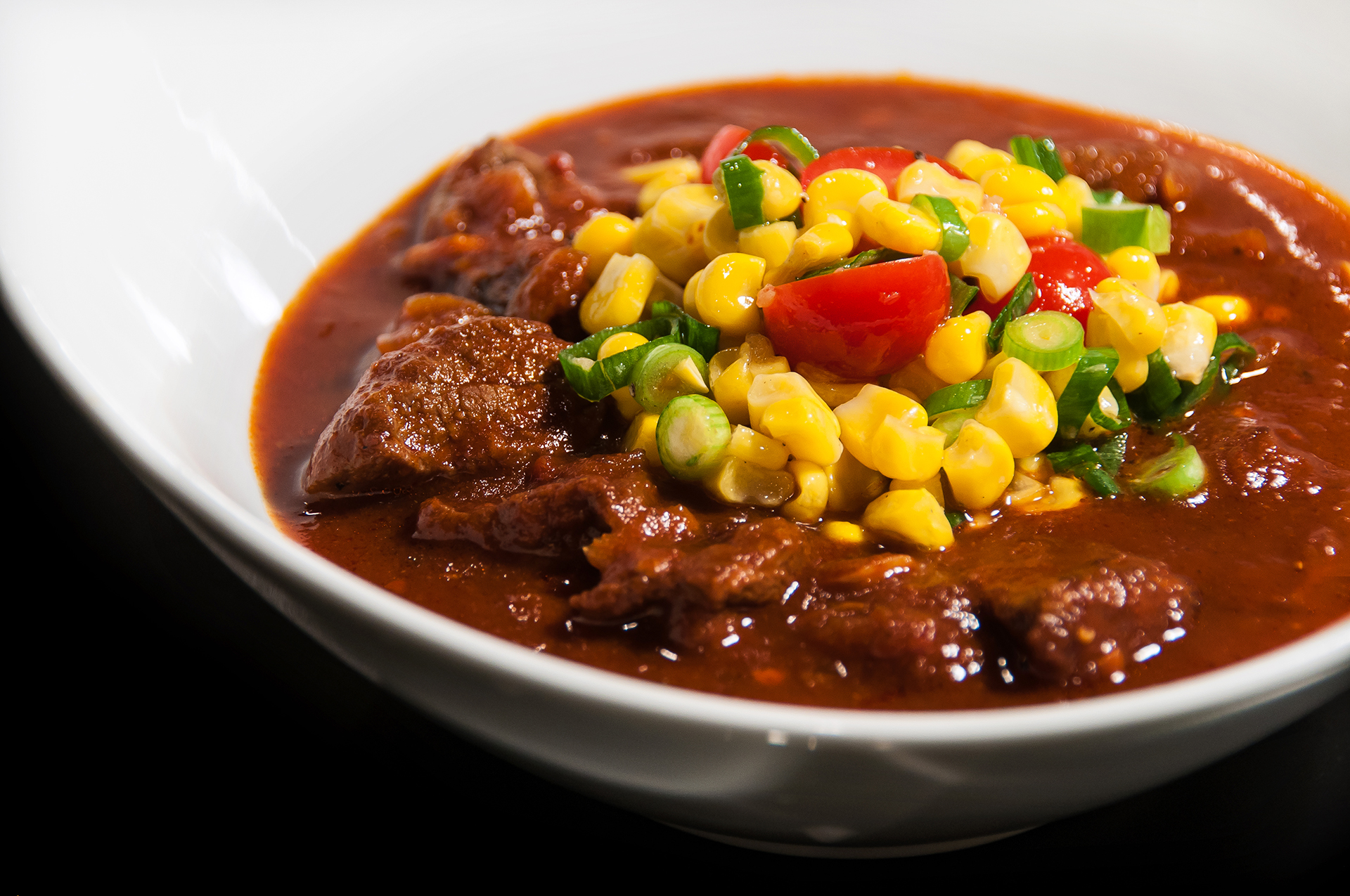 Smoky Beef Chili (from The New Slow Cooker )