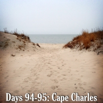 Beach in Cape Charles