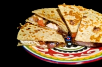 Garlic Chicken Quesadillas