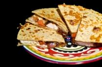 Garlic Chicken Quesadillas