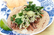 Pork Carnitas Taco... yum!