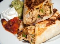 Rotisserie Chicken Burritos