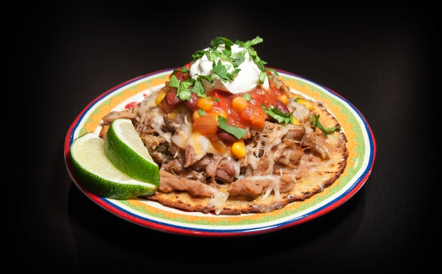 Pork Carnitas Tostadas