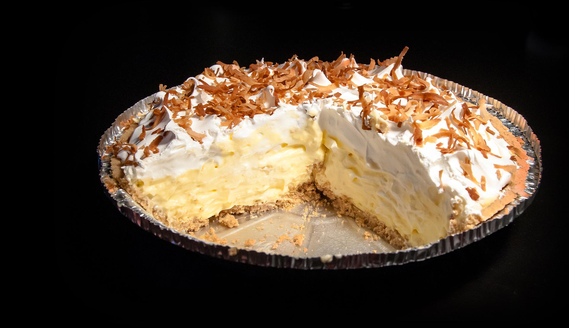 No-Bake Coconut Cream Pie | The Little GSP