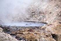 Boiling sulphur spring