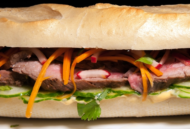 Banh Mi close up
