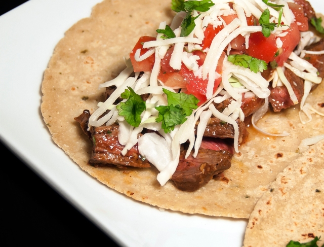 Zacatecas Skirt Steak Taco