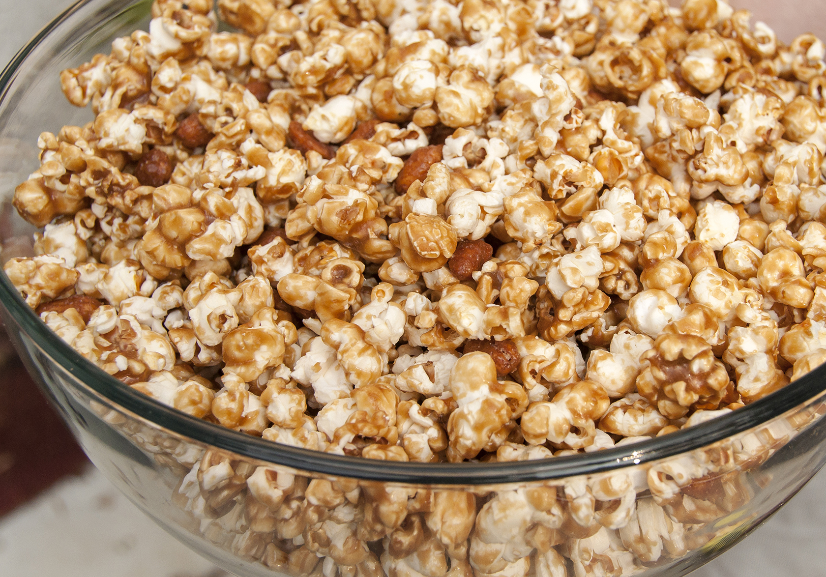 Caramel Corn with Honey-Roasted Peanuts | The Little GSP