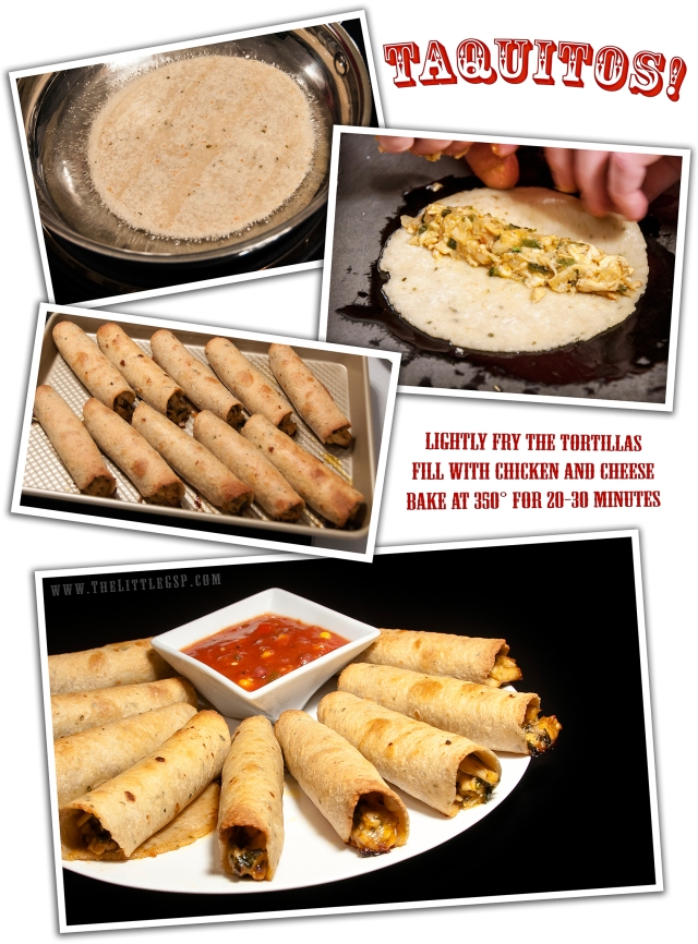 Homemade Taquitos Montage