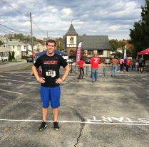 Matt at the Trinity 5K