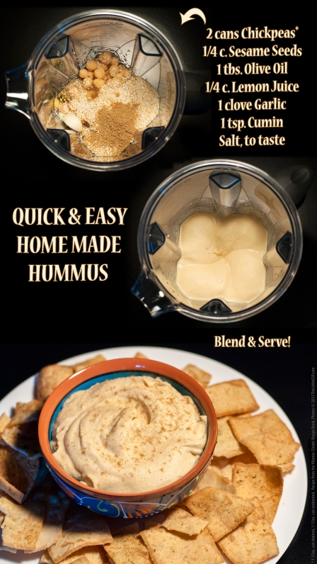 Quick and Easy Hummus Recipe