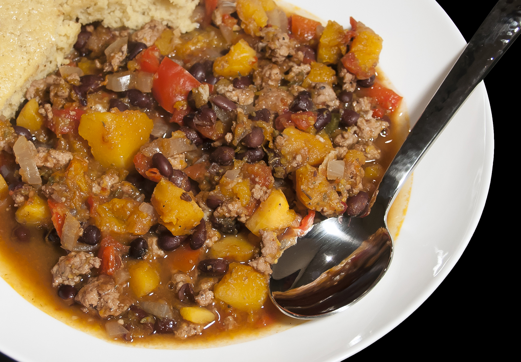 Butternut Squash and Turkey Chili | The Little GSP
