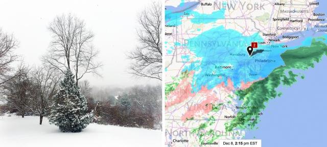 December 8th Snow