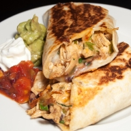 Rotisserie Chicken Burritos