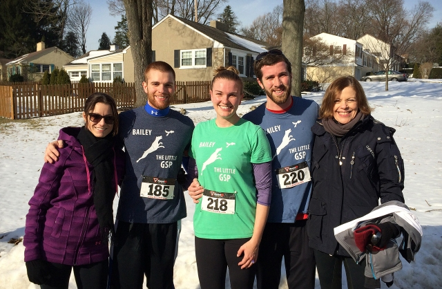 Family at the 5K