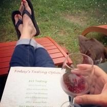Anniversary wine tasting (6/8/14)