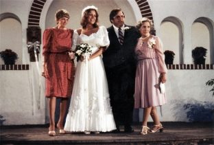 1983 - My parents' wedding at The Willows