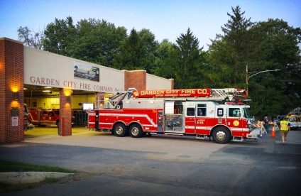 Garden City Fire Co. hosted the after party and BBQ