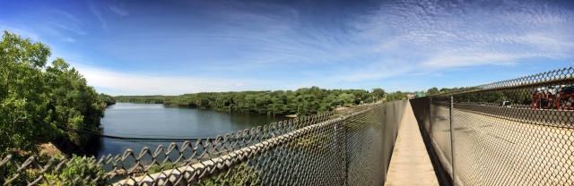 Rt 422 Bridge Panorama over the Schuylkill