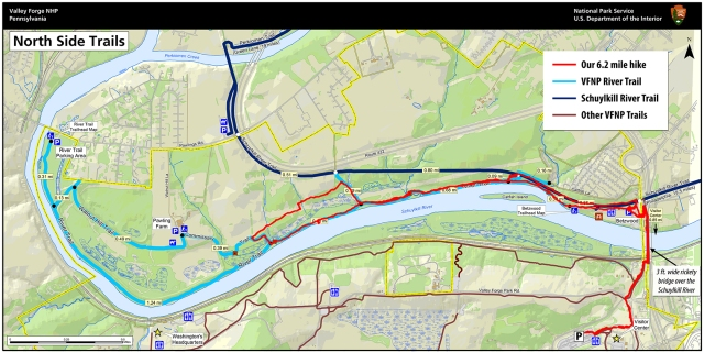 VFNP River Trail Map