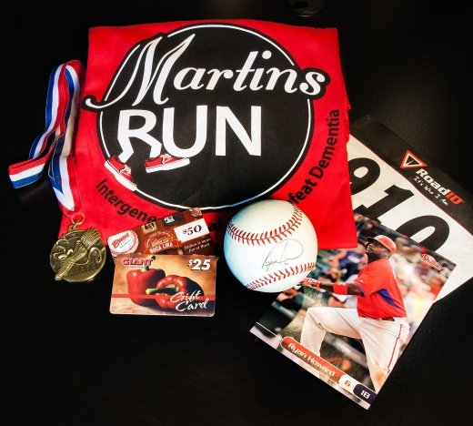 Prizes from Martin's Run