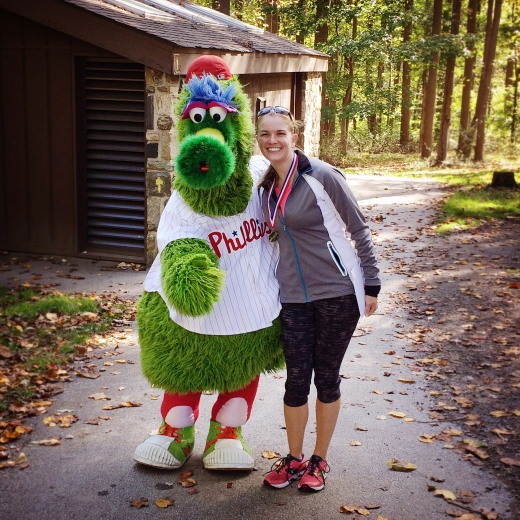 Me with the Phillie Phanatic