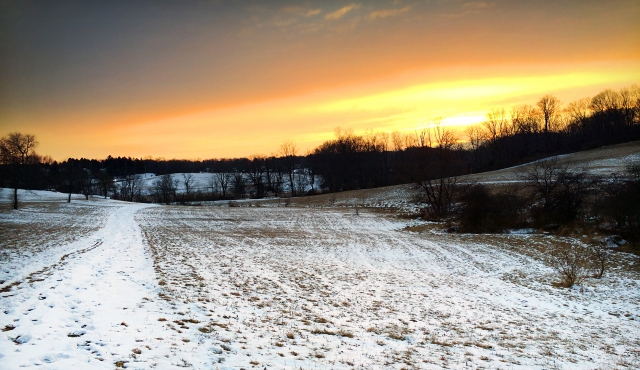 Okehocking Sunset (2/18/15)
