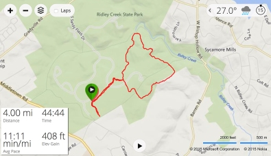 Ridley Creek Trail Run (Interactive Map)