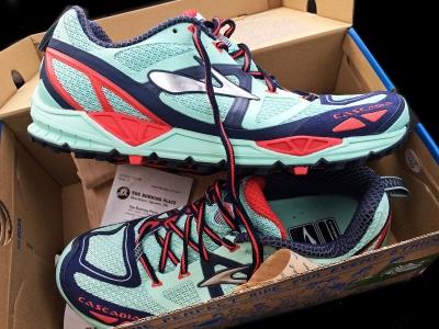 Brooks Cascadia 9 shoes