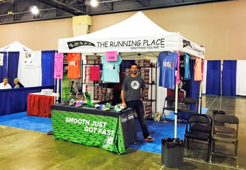 My local running store at the Broad Street Expo! (Photo Credit: The Running Place)