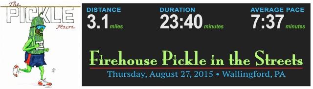 Summer Pickle Stats