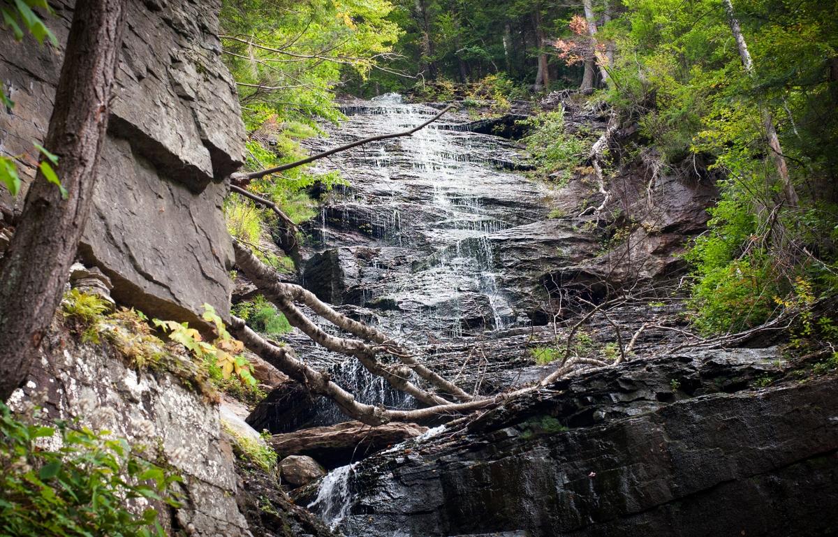 Lye Brook Falls (Manchester, Vermont)