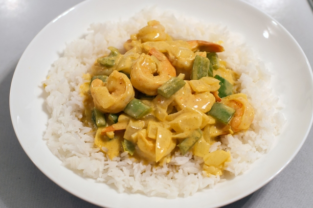 1429 Shrimp Curry