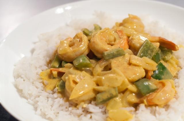 1430 Shrimp Curry