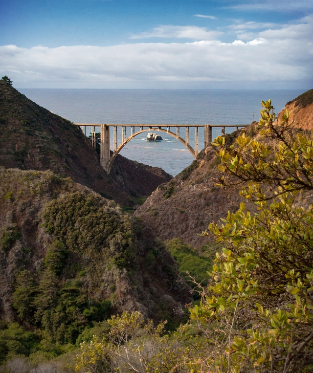 564 Bixby Bridge from Old Coast Road