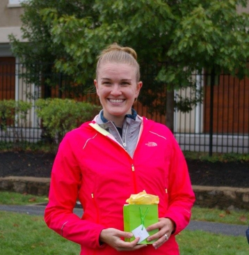 Do you think my jacket is bright enough? (Photo Credit: BAAR 5K)
