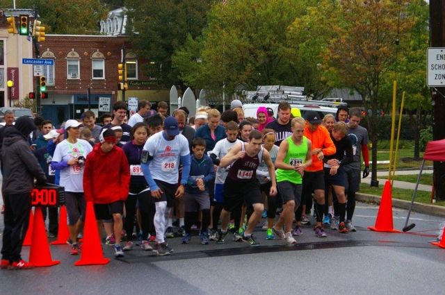Start of the Race (Photo Credit: BAAR 5K)
