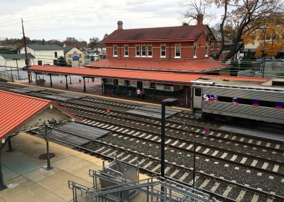 Berwyn Train Station