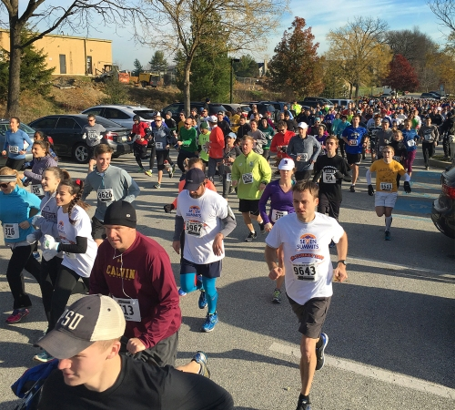 Turkey Trot Start